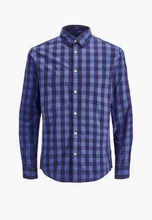 JJEGINGHAM - Shirt - light blue