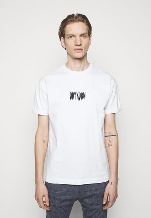 THILO FADE - Print T-shirt - offwhite