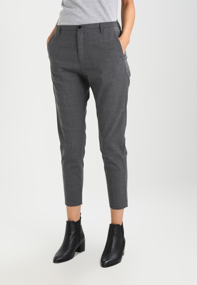 KRISSY - Pantalones - grey melage