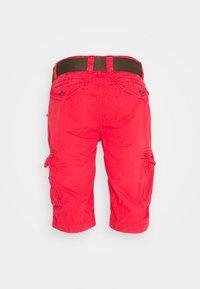 Schott - Shorts - spicy red - 1