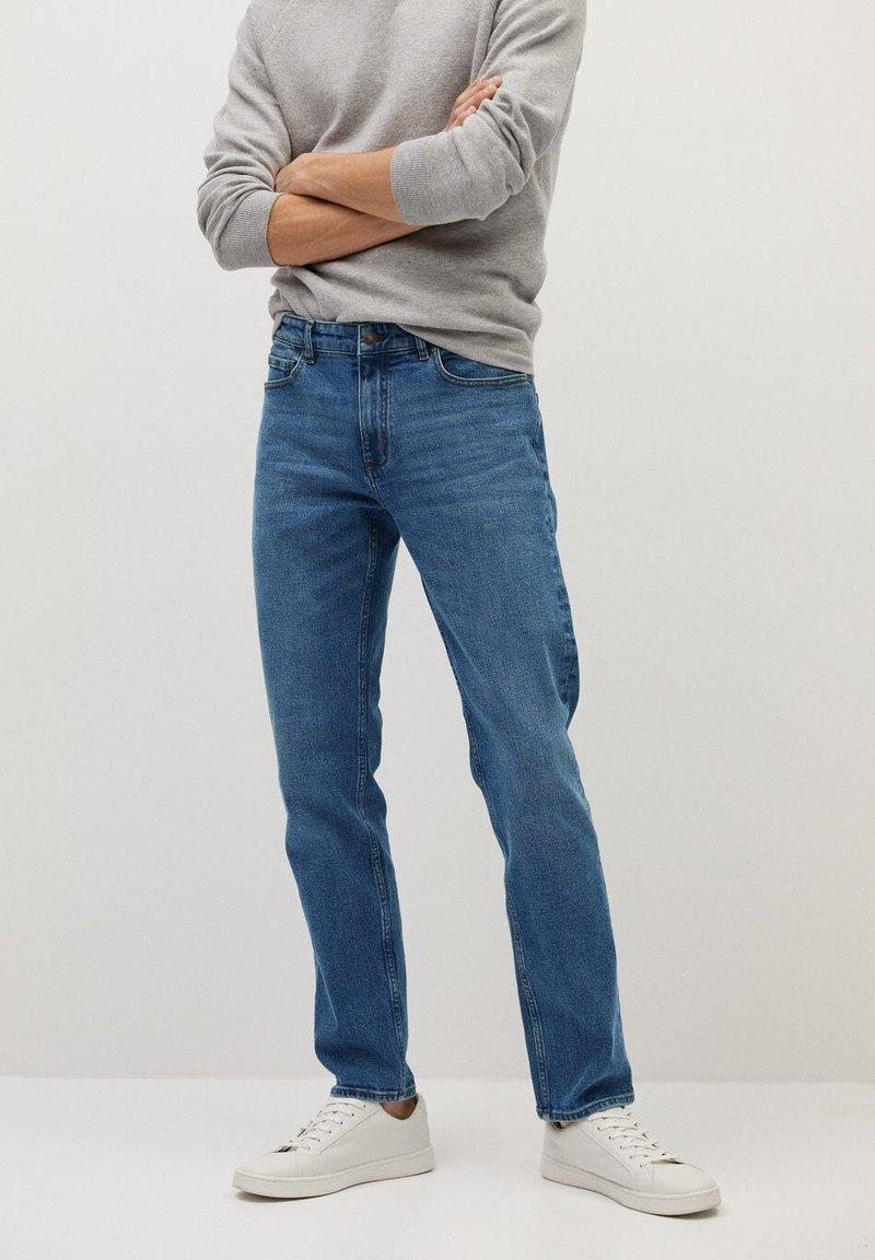 Mango - BOB - Straight leg jeans - bleu foncé