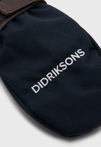 Didriksons - BIGGLES ZIP MITTEN UNISEX - Manoplas - navy - 3