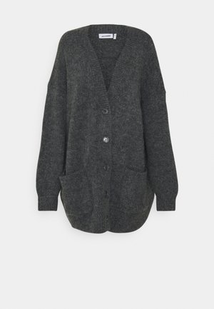 ALMA CARDIGAN - Cardigan - grey melange