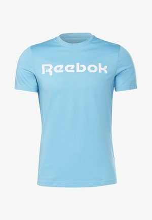 ELEMENTS SPORT SHORT SLEEVE GRAPHIC TEE - T-shirt z nadrukiem - turquoise