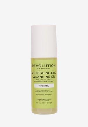 REVOLUTION SKINCARE NOURISHING CBD CLEANSING OIL - Detergente - -