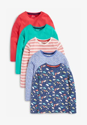 5 PACK LONG SLEEVE - Long sleeved top - multi-coloured