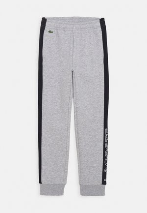 Tracksuit bottoms - silver chine/abysm/white
