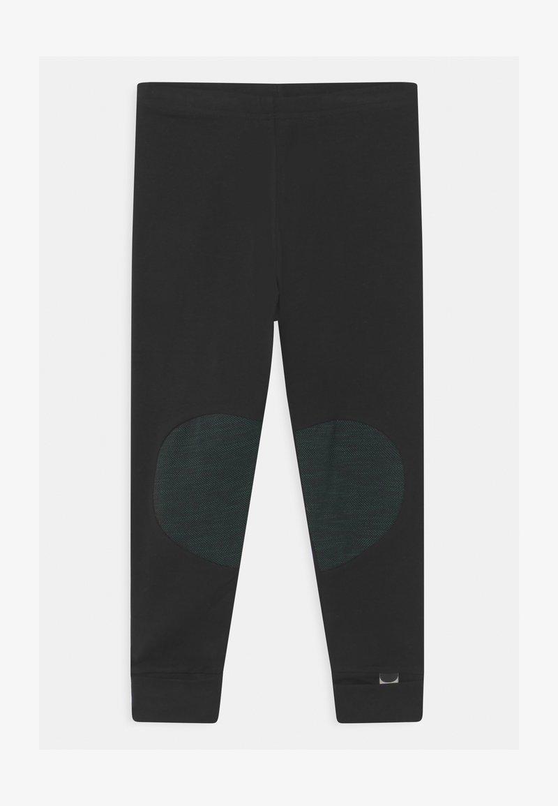 Papu - UNISEX - Legíny - black/school green