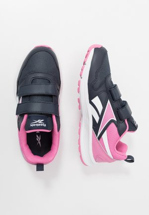 ALMOTIO 5.0 2V - Neutral running shoes - core navy/posh pink/white