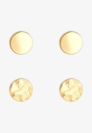 2 PACK  - Náušnice - gold-coloured