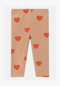TINYCOTTONS - HEARTS - Legging - light nude/red - 0