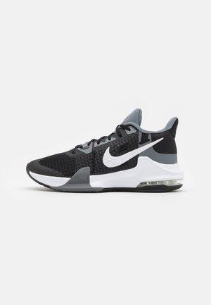 AIR MAX IMPACT 3 - Indoorskor - black/white/cool grey