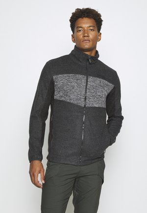 CURZON - Fleece jacket - ash/black