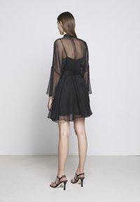 Pinko - SAETTA ABITO - Vestito elegante - black - 2