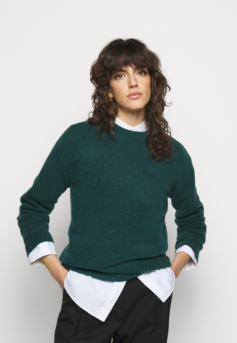 Bruuns Bazaar - HOLLY JOHANNE  - Svetr - teal green