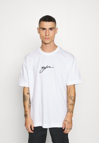 Good For Nothing - OVERSIZED SCRIPT - T-shirt print - white - 0
