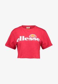 Ellesse - ALBERTA - T-shirts print - red - 3