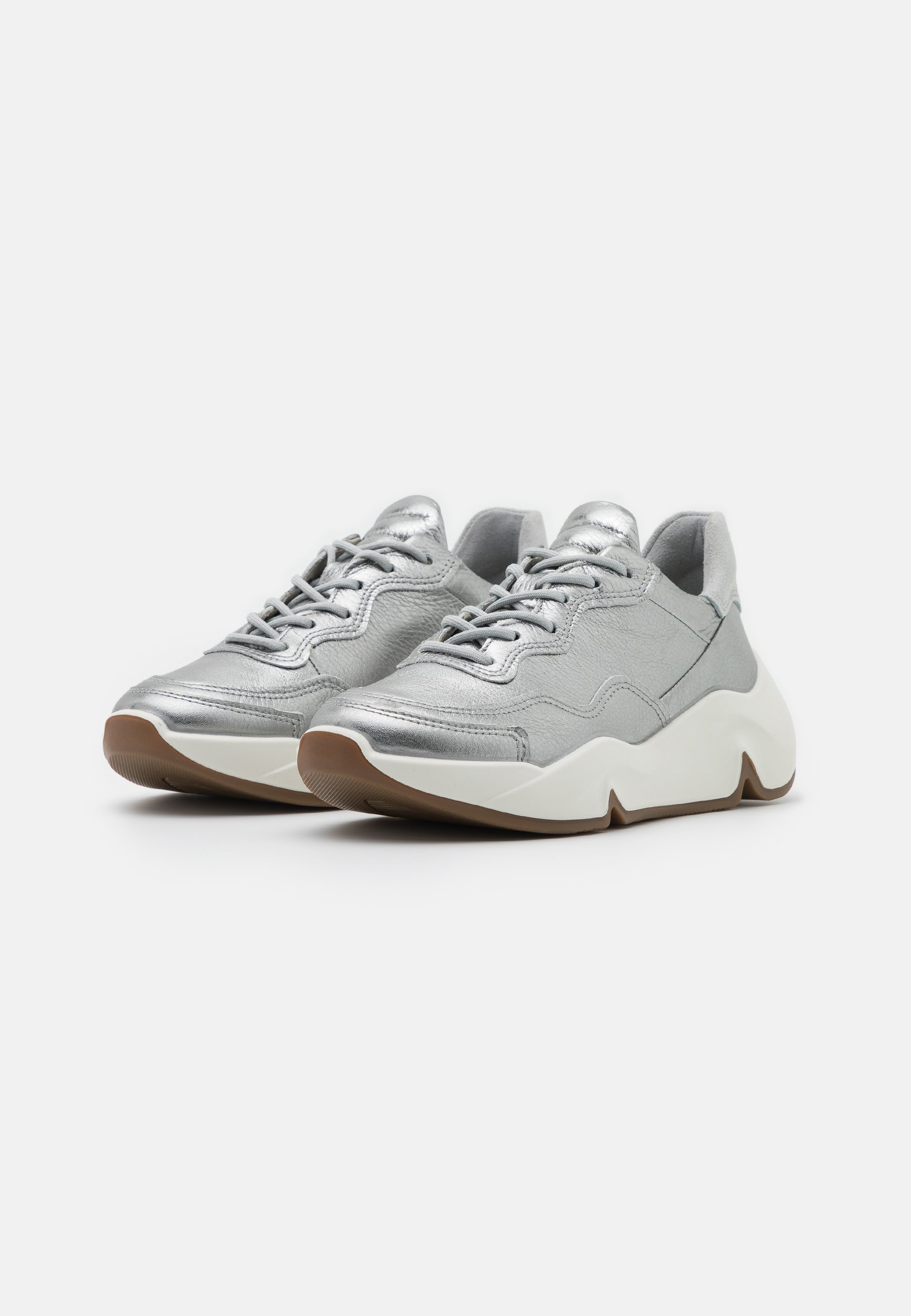 Ecco Chunky - Sneakers Silver