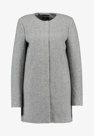 NOOS - Krátký kabát - light grey melange