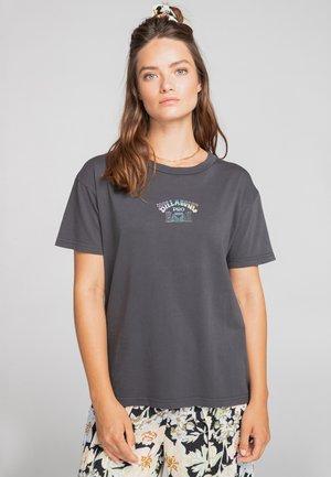 HAWAII  - Print T-shirt - off black