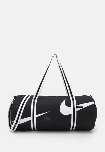 HERITAGE DUFF UNISEX - Treningsbag - black/white