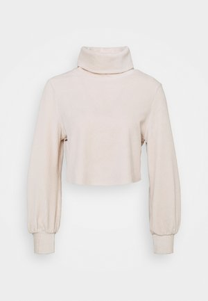 LADIES - Long sleeved top - champagne