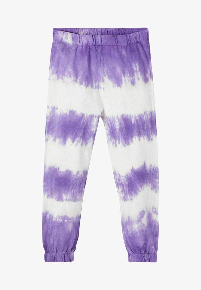 Verryttelyhousut - aster purple