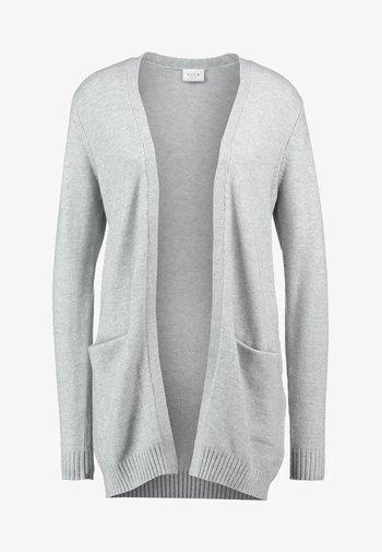 VIRIL OPEN CARDIGAN  - Cardigan - light grey melange