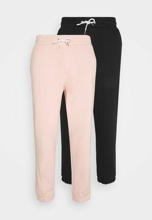 UNISEX  JOGGERS - Teplákové kalhoty - black_pink
