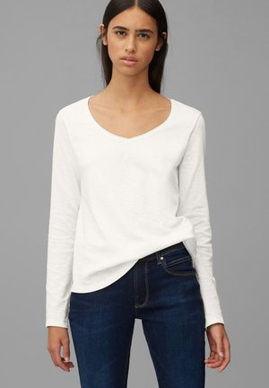 Long sleeved top - scandinavian white