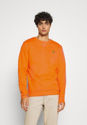 CREW NECK - Sweatshirt - risk orange