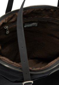 DreiMaster - DREIMASTER SHOPPER - Shopping bag - schwarz schwarz - 4