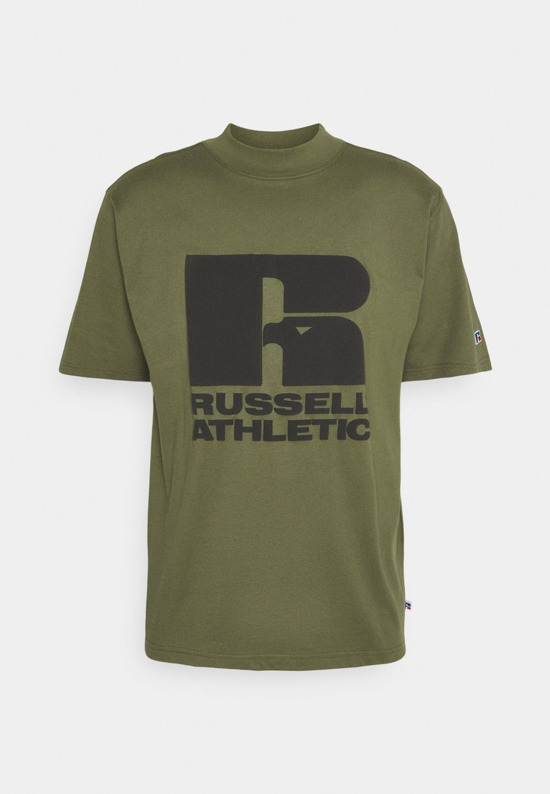 Russell Athletic Eagle R - CODY MODERN CREWNECK TEE UNISEX - Print T-shirt - four leav clover