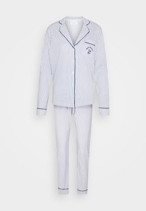 STRIPES PJ SET - Pyjamas - blues