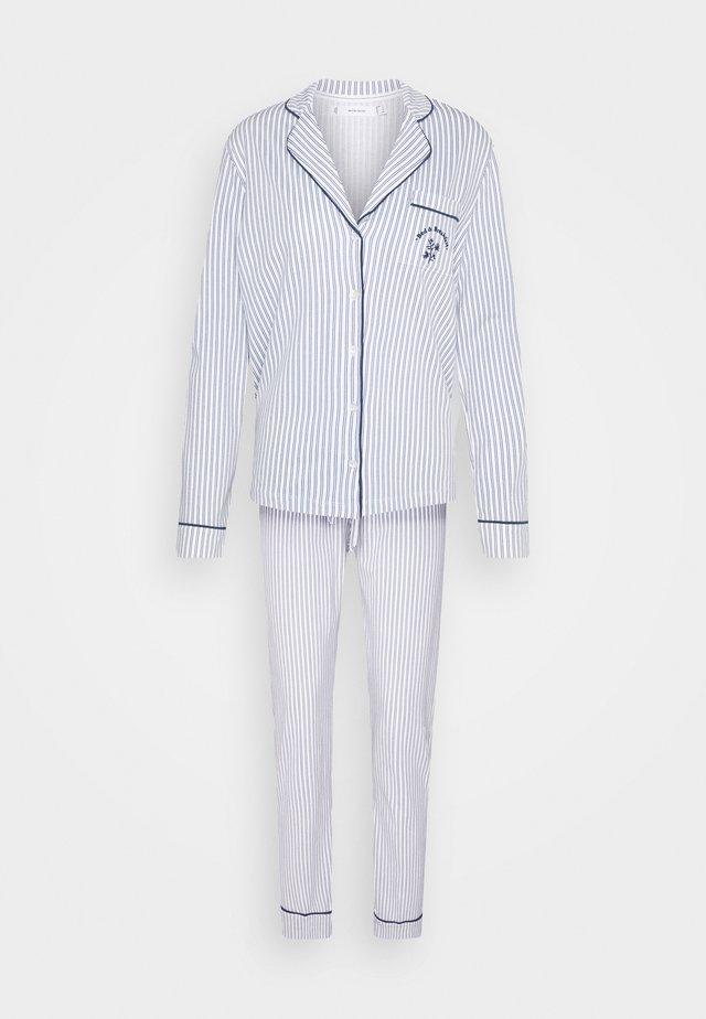 STRIPES PJ SET - Pyjama - blues