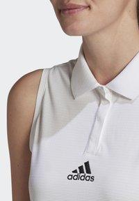 adidas Performance - TENNIS MATCH TANK TOP HEAT.RDY - Polo shirt - white - 4