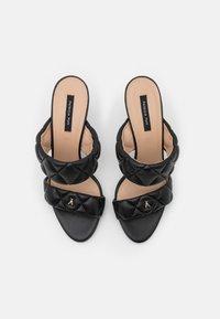 Patrizia Pepe - Pantofle na podpatku - nero - 4