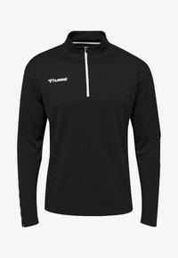 Hummel - HMLAUTHENTIC  - Sweatshirts - black/white - 0