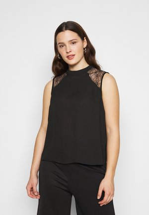 VMHEAN TOP CURVE - Toppi - black