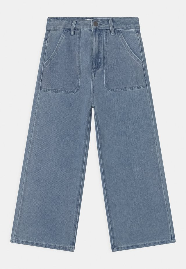 ELKA - Jeans baggy - mid blue wash