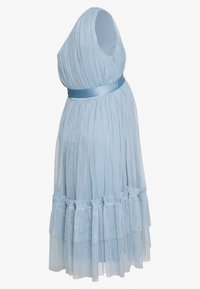 Anaya with love Maternity - ONE SHOULDER MIDI DRESS WITH RUFFLE DETAIL - Robe de soirée - cornflower blue - 1