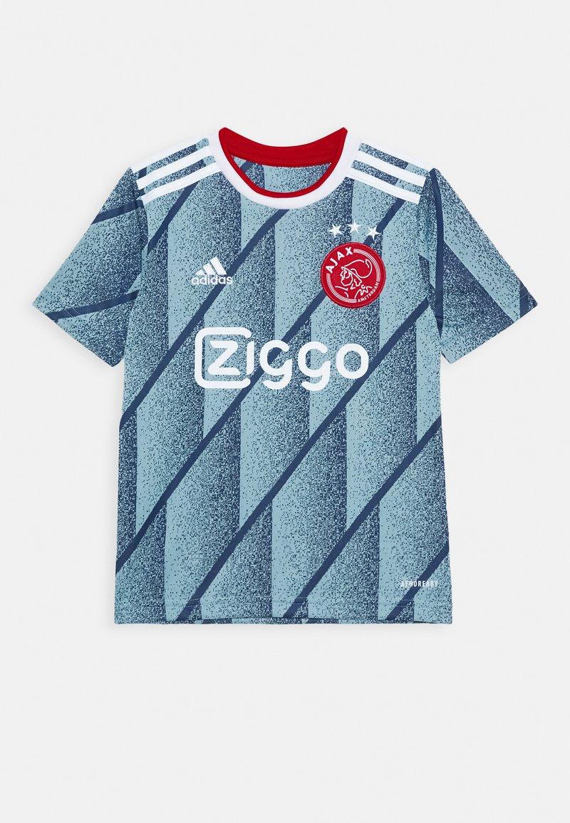 adidas Performance - AJAX AMSTERDAM AEROREADY FOOTBALL - Club wear - iceblu