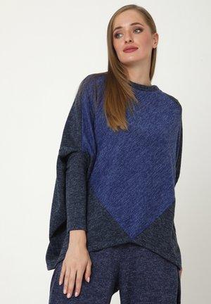 EMMANA - Print T-shirt - blau, kornblumenblau