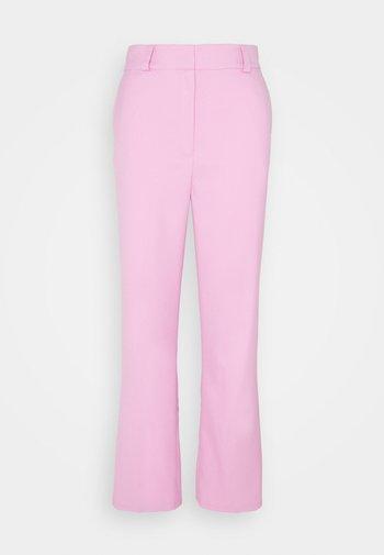FLAW - Pantalon classique - blush