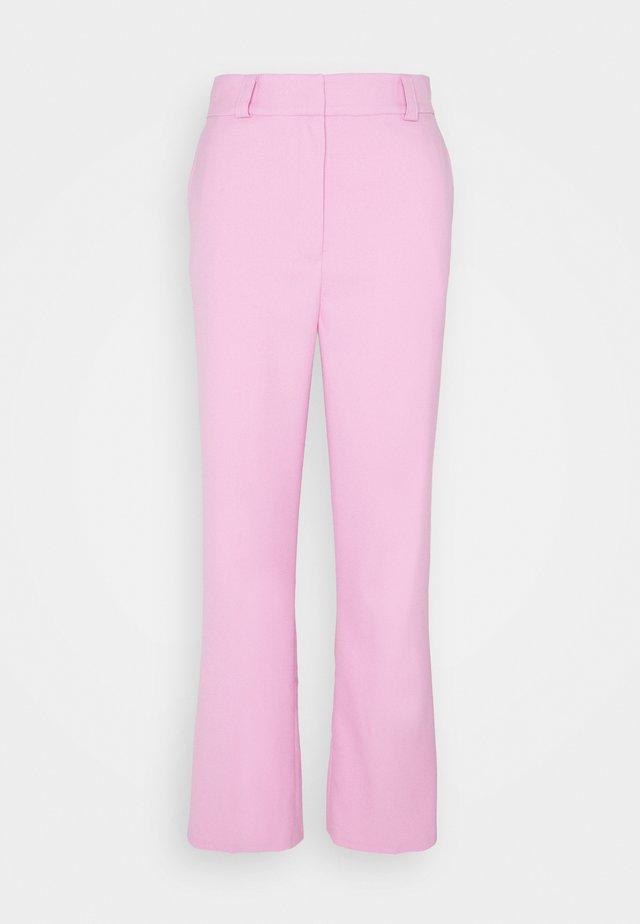 FLAW - Kalhoty - blush