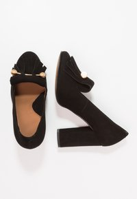 Selected Femme - SFMEL FRINGES - High Heel Pumps - black - 2