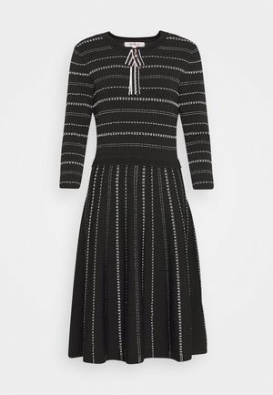 DECEMBRE ROBE - Strikket kjole - black