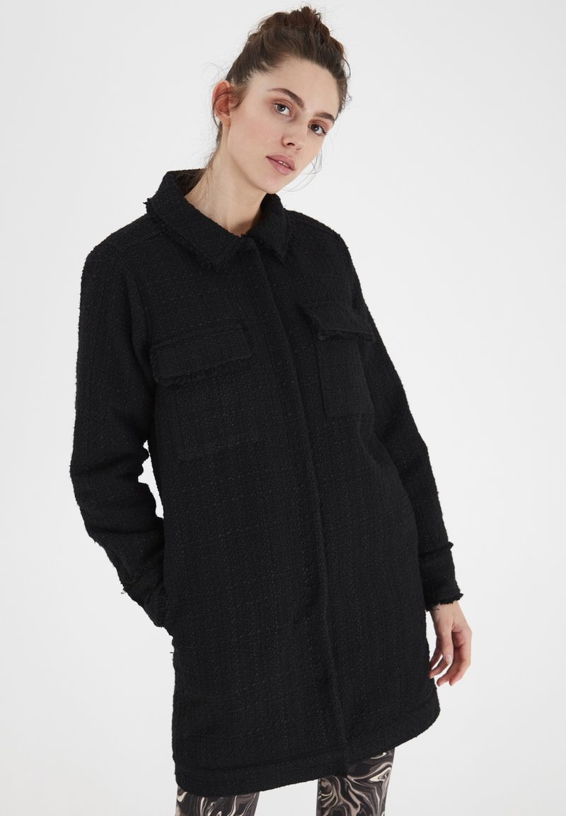 ICHI - IHGRISELDA JA - Winter coat - black