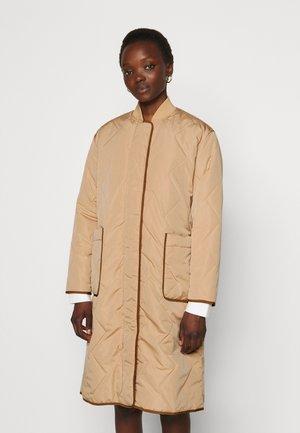 ATLEY - Classic coat - tan