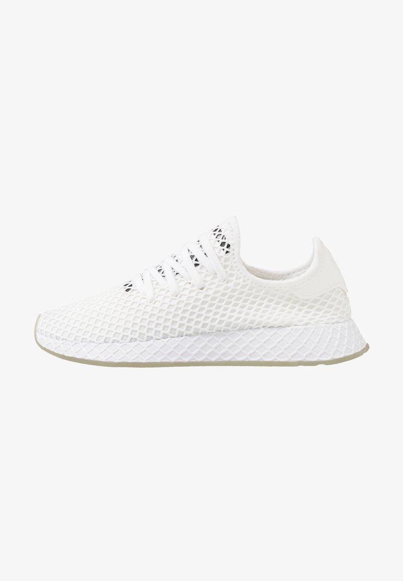 adidas Originals - DEERUPT RUNNER - Trainers - footwear white/core black/sesame